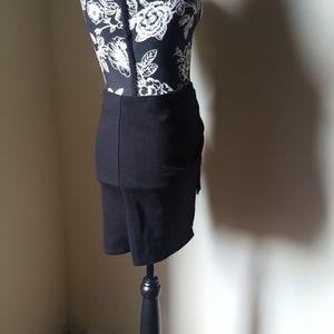 Forever 21 Skirts - Forever 21♥️ Black Wrap Mini Skirt sz L runs small